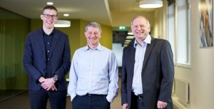 Paul Clark (HESA), Paul Feldman (Jisc) and Douglas Blackstock