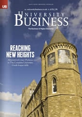 Cover of University Business, issue 111