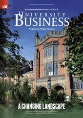 University Business cover, issue 110