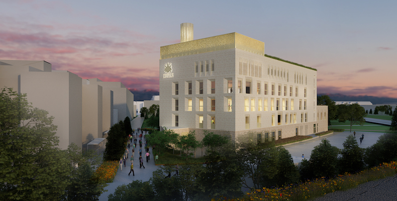 An artist's impression of the new University of Nottingham Lincoln Medical School
