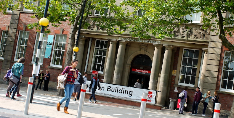 Staffordshire University was one of only two public universities in the country to have no gender pay gap