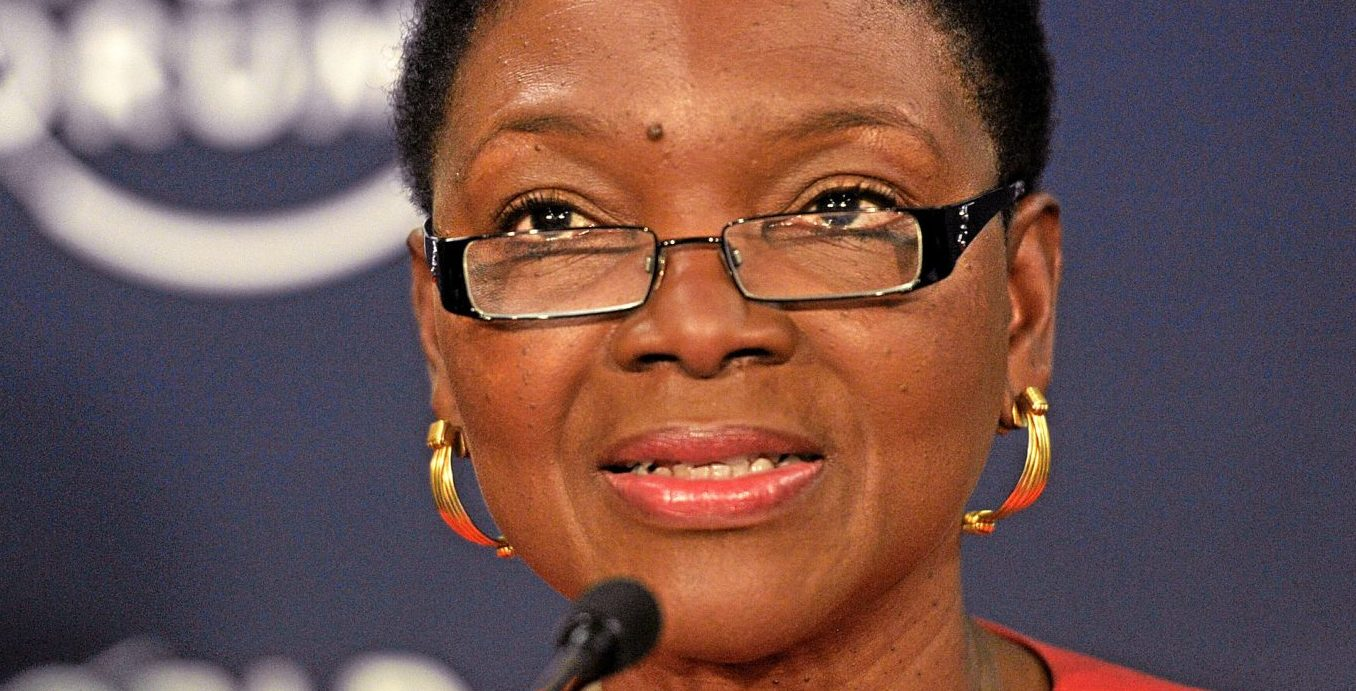 Lady Amos will become the first woman head of University College, Oxford and first black person to head an Oxford college (credit: Flickr World Economic Forum)
