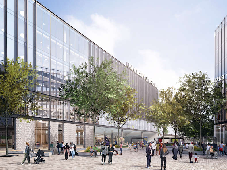 The new centre will have an open air courtyard surrounded by glass panels
