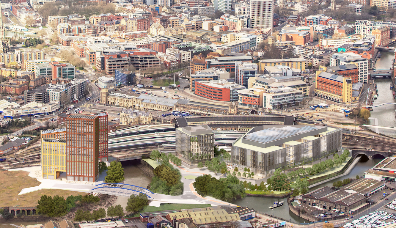 The new campus will be built on the site of a former Royal Mail sorting office on land adjacent to Temple Meads station