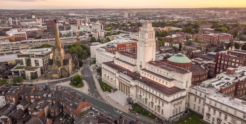 The University of Leeds was influenced by its students' union, which voted to lobby for more ambitious targets