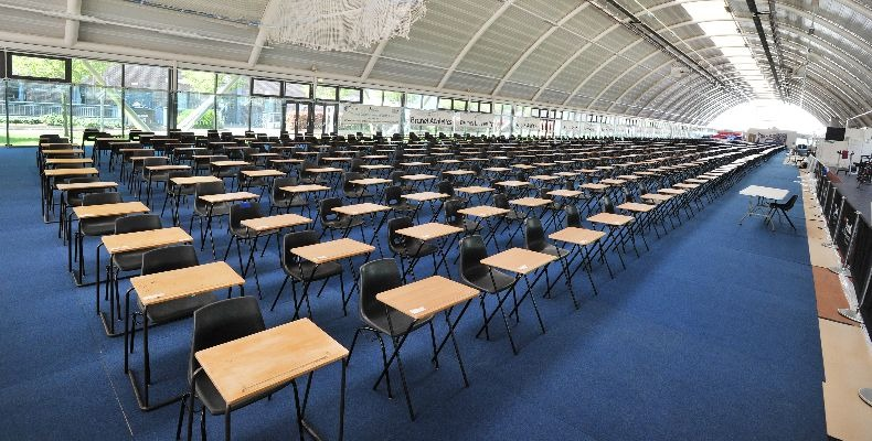 An-exam-hall-at-Brunel-University