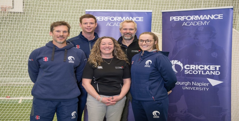The academy was launched by representatives from Cricket Scotland on November 26