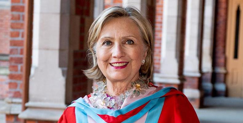 Hillary-Clinton-new-Queens-Belfast-chancellor