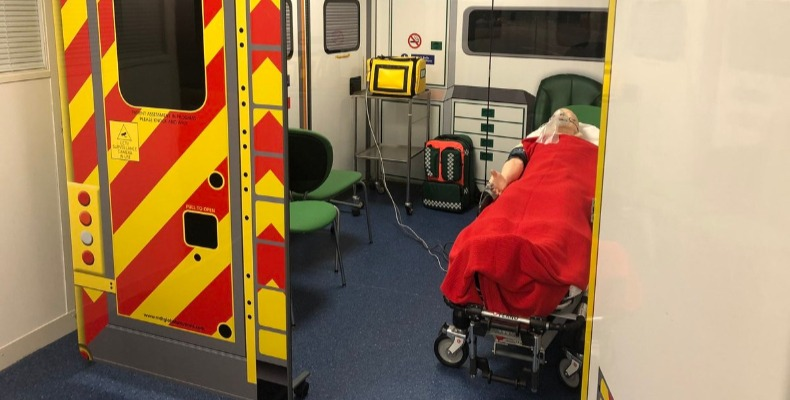 The facilities will cater for students on courses including nursing, midwifery, physiotherapy and paramedic science
