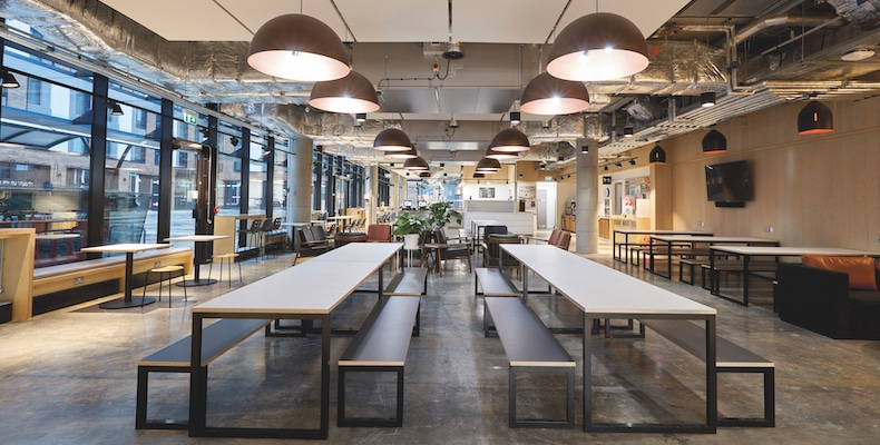 A modern, flexible space at UAL's Camberwell Campus