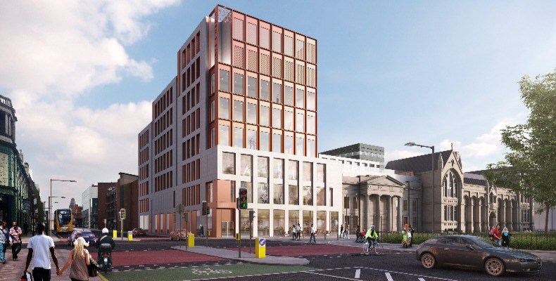 The 12,500 sq m development has been built by Morgan Sindall Construction