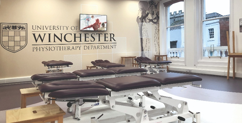 Forbo_University of Winchester Physiotherapy