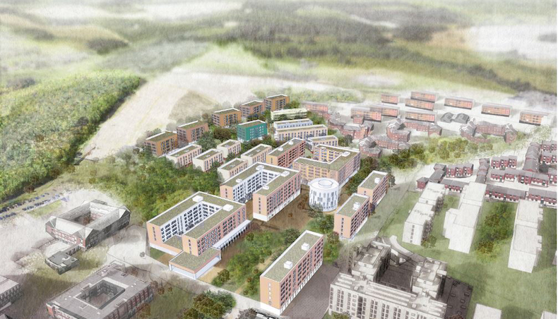 University of Sussex gets green light for new campus housing and student facilities