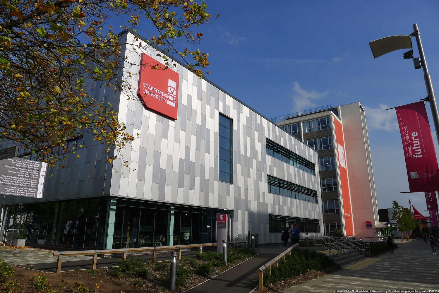 Staffordshire University -photo by Tim Heaton