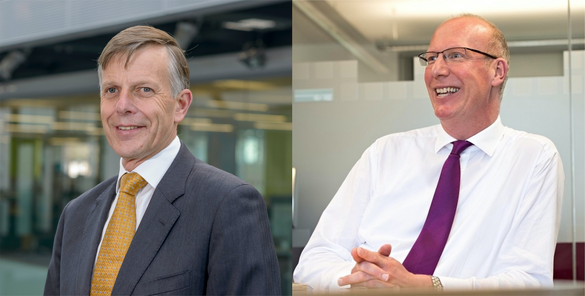 Two vice-chancellors announce retirement
