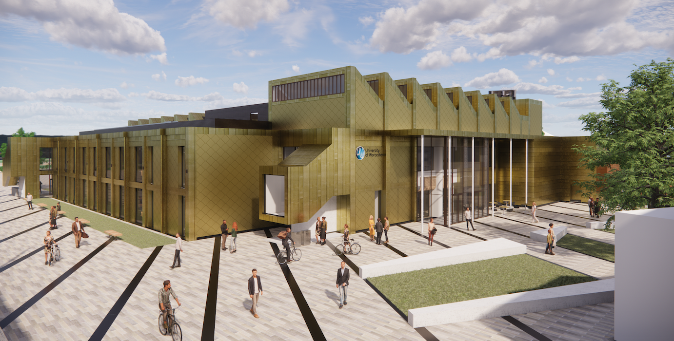 University of Worcester announces plans for new healthcare facility external 2