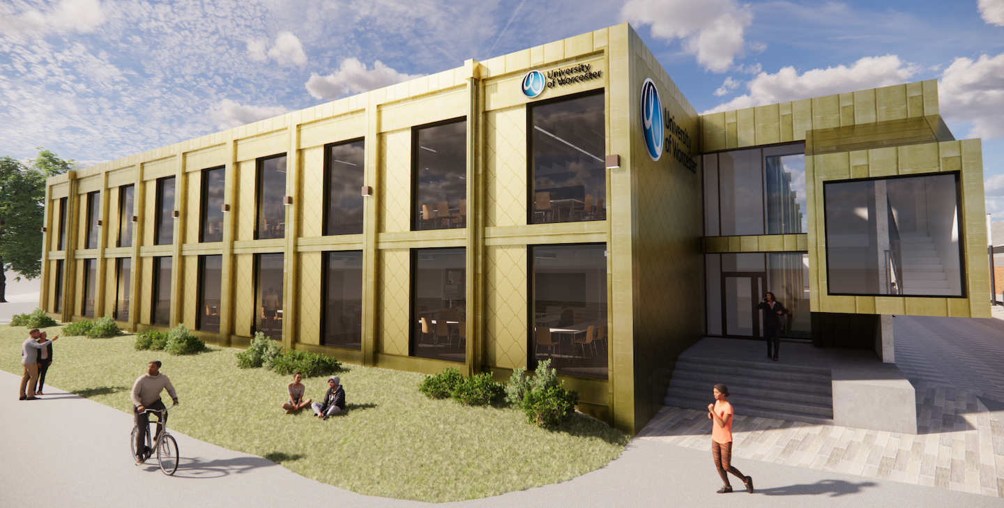 University of Worcester announces plans for new healthcare facility external