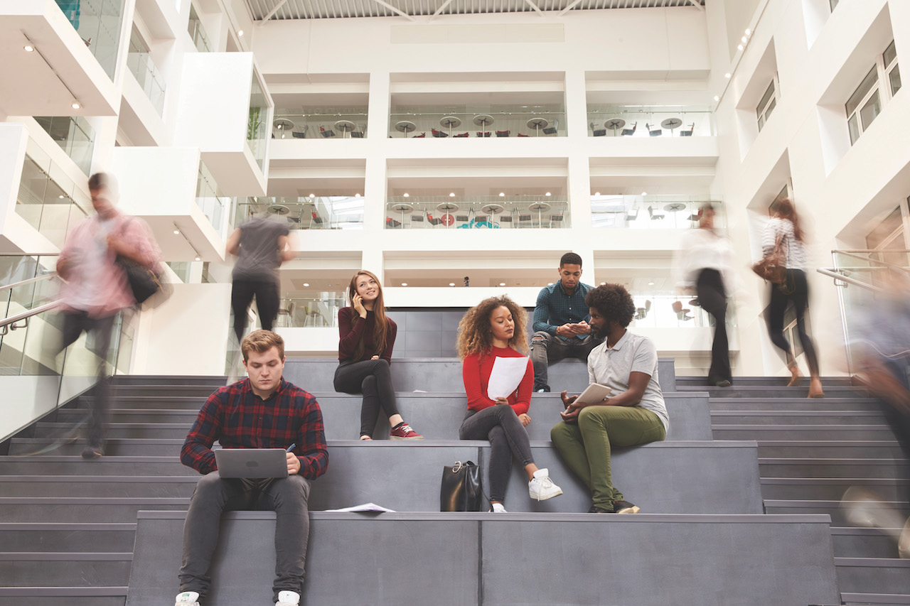 Most students and staff can't wait for a return to campus life